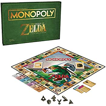 Monopoly Legend Of Zelda Collectors Edition Board Game Ages 8 Up Brown Amazon Exclusive