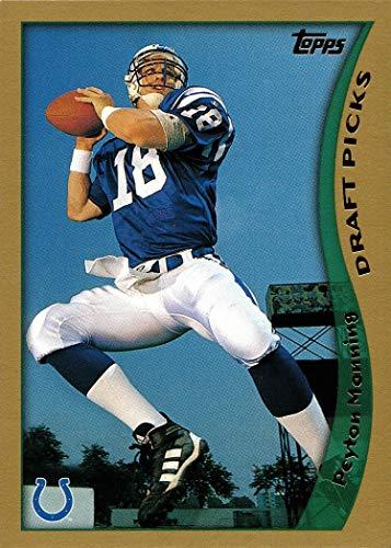 1998 Topps Football #360 Peyton Manning Rookie Card