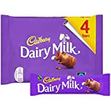 Cadbury Dairy Milk Chocolate Candy Bar Pack Imported From The UK England Creamy Milk Chocolate Made With A Glass & A Half Of Fresh Milk Made With Fairtrade Cocoa The Best British Candy Bar