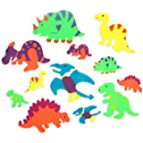 Foam Adhesive Dinosaur Shapes (500 pc) by Fun Express
