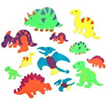 Foam Adhesive Dinosaur Shapes (500 pc) by Fun Express