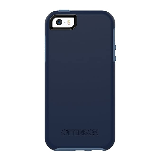 buy online c61db a2ef7 OtterBox SYMMETRY SERIES for iPhone 5/5s/SE - Frustration Free Packaging -  BLUEBERRY (ADMIRAL BLUE/DARK DEEP WATER BLUE)