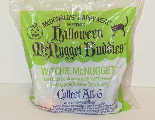 1992 Mcdonald's Halloween Mcnugget Buddies -