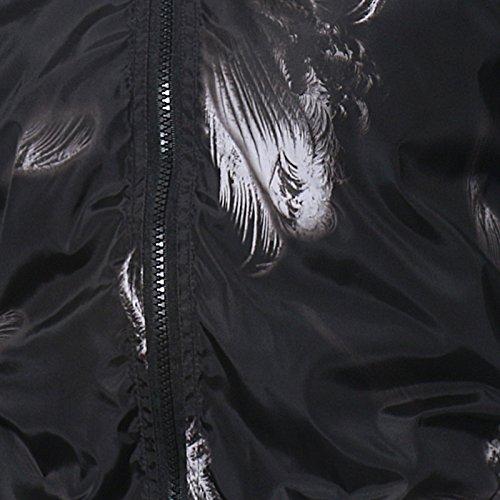 Uomo Casual Europeo La Codice Stampa Xl E Semplice Camicia Giacca Inverno Autunno R1qwwF