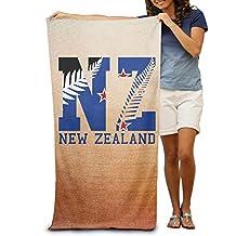 """New Zealand Flag 2016 NZ Fern Leaf 31.5""""*51"""" Beach Towel"""