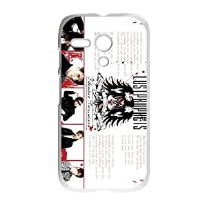 Motorola G Cell Phone Case Covers White Lostprophets Phone Case Cover Personalized Hard XPDSUNTR30458