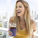 Insulated Coffee Cup Sleeves Reusable - Neoprene