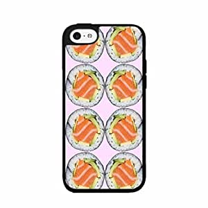 Funny Sushi Plastic Phone Case Back Cover iPhone 5c