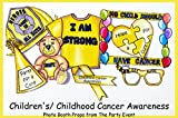 Childhood Cancer Awareness Photo Booth Props