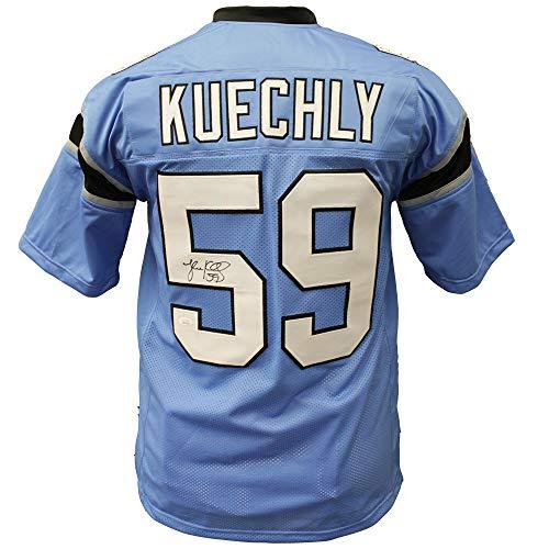 - Luke Kuechly Autographed Signed Carolina Panthers Light Blue Alternate Jersey - JSA Certified Authentic