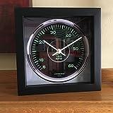 Porsche 356 Tachometer Wall/Shelf Clock