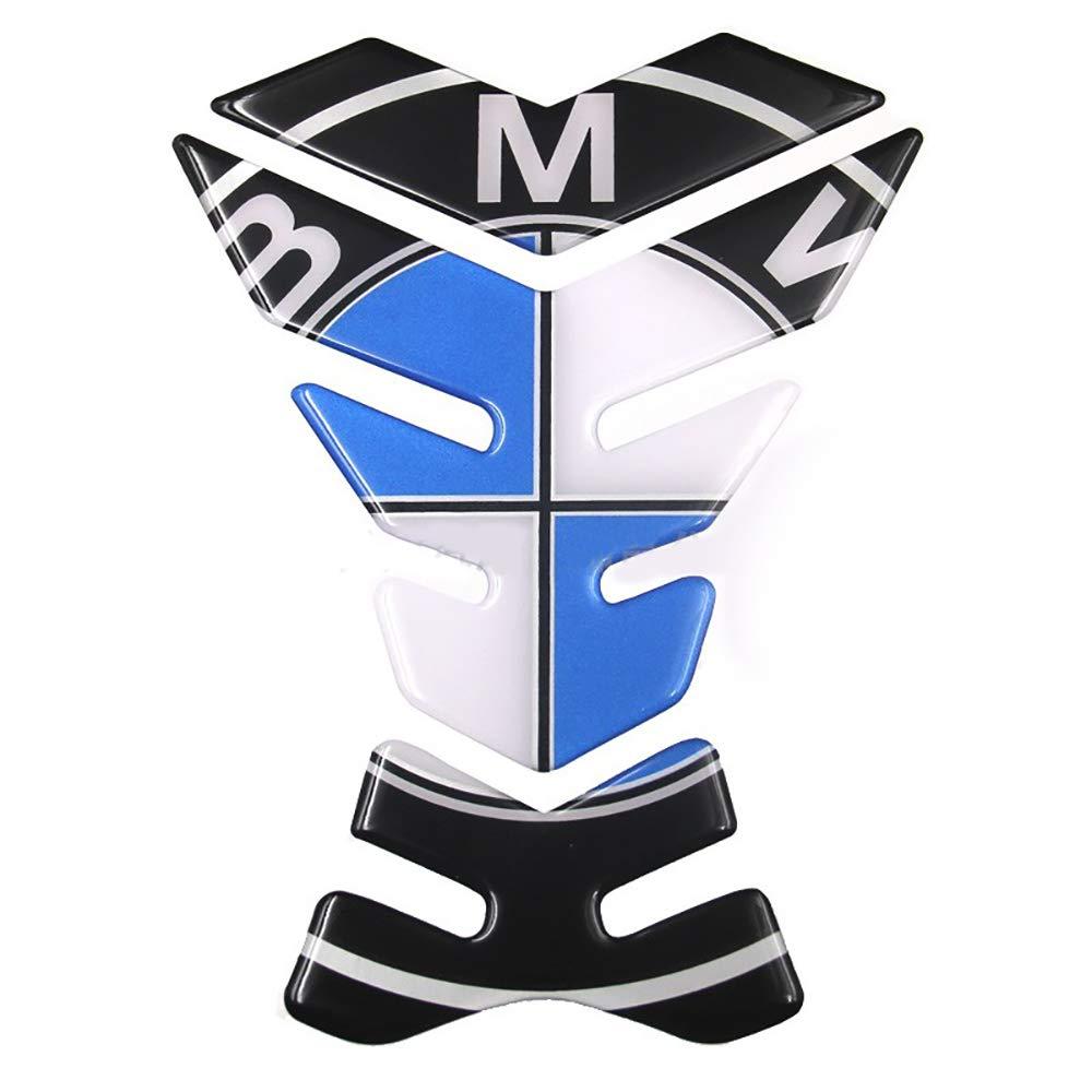 Essence LIDAUTO Autocollant de Protection pour Moto r/éservoir pour BMW Universal mazout