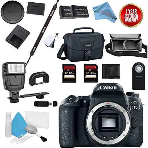 Canon Eos 77D Digital SLR Camera Body Bundle