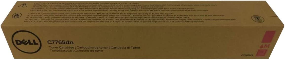 Dell H10TX Magenta Toner Cartridge C7765dn Color Multifunction Laser Printer