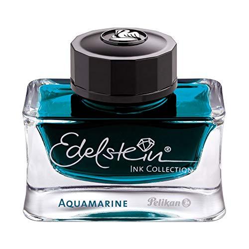 Pelikan Edelstein Bottled Ink for Fountain Pens, Aquamarine, 50ml, 1 Each (300025)