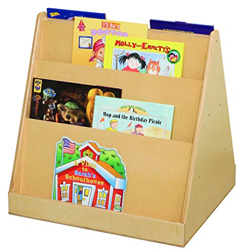 Wood Designs 32200 Tot Size Double Sided Book Display, 25