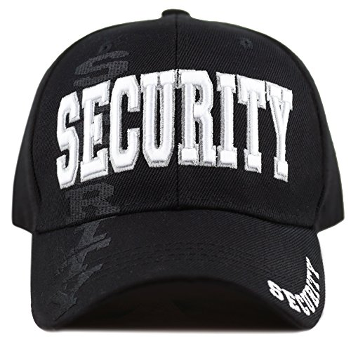 The Hat Depot Law Enforcement Police Officer 3D Embroidered Baseball Cap (Security)