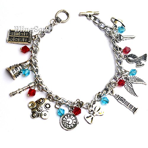 [Doctor Who Bracelet - DW Themed Charm Bracelet] (Peter Capaldi Twelfth Doctor Costume)