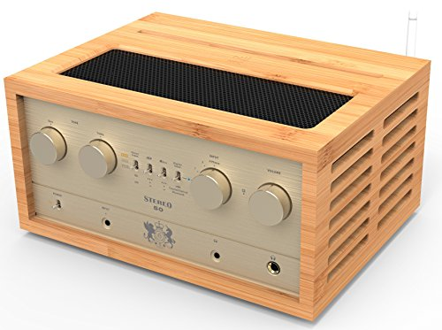 (Retro Stereo 50 Integrated Tube Amplifier w/Bluetooth)