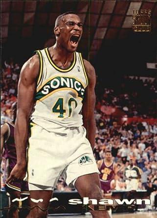 8fb45f43ce65c Amazon.com: 1993 Stadium Club Basketball Card (1993-94) #222 Shawn ...