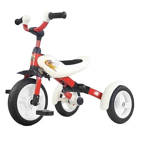 Triciclos Niño DE 3-6 Años de Edad Carruaje de bebé Trike Plegable Boy Girl