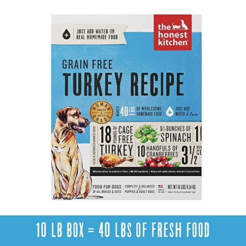 Honest Kitchen Human Grade Dehydrated Grain Free...