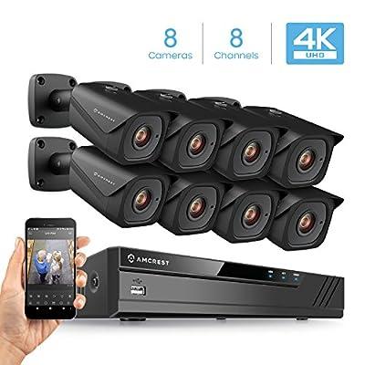 Amcrest 4K Security Camera System w/ 4K (8MP) NVR from Amcrest