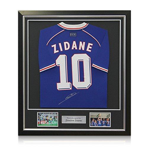 Deluxe Framed Zinedine Zidane Signed product image