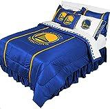 3pc NBA Golden State Warriors Queen-Full