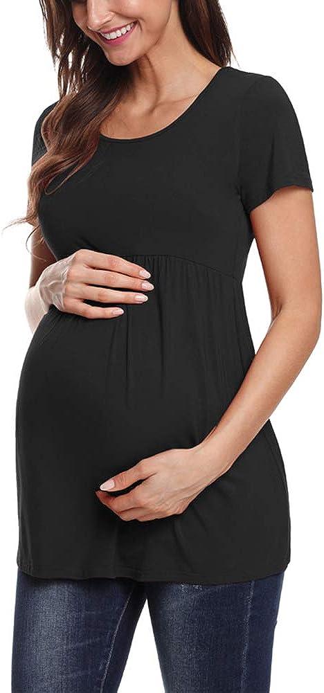 Motivo Maglietta da Donna a Maniche Corte maternit/à Love2Mi