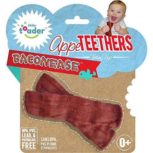 Little Toader Teething Toys, Baconease Appe-Teethers]()