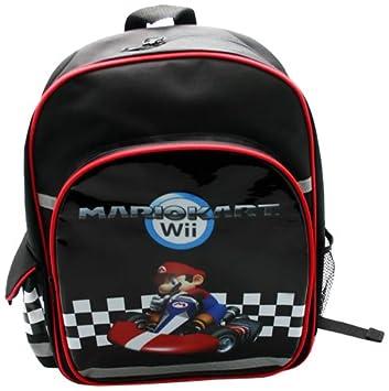 Together BAGNIN004 - Mochila infantil con bolsillo lateral, diseño de Mario Kart Wii: Amazon.es: Juguetes y juegos