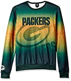 FOCO Green Bay Packers Printed Gradient Crew Neck Sweater - Mens Extra Large