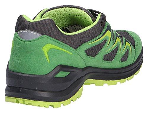 Niños Lowa INNOX EVO GTX® LO JUNIOR 340128-7004 verde / lima grün/limone