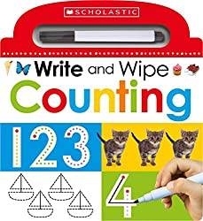 Image of the product Write and Wipe Counting that is listed on the catalogue brand of Scholastic Inc. With an score of 4.0.