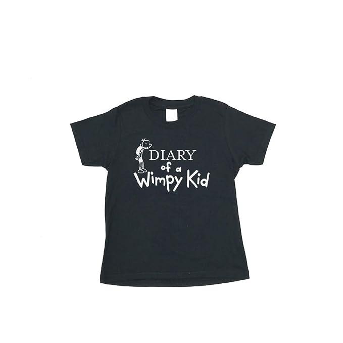 29b7f1b67 Chilledworld - The Diary of a Wimpy Kid | KIDS T-SHIRT - Books Movie Jeff  Kinney: Amazon.co.uk: Clothing