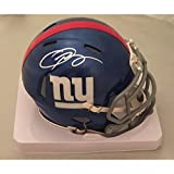 Odell Beckham Jr Autographed New York Giants Signed Football Mini Helmet PSA DNA COA
