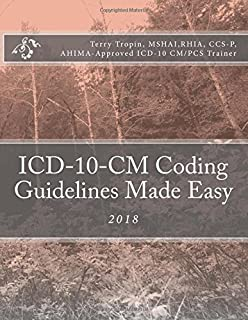 Icd 10 cm and icd 10 pcs coding handbook with answers 2018 rev ed icd 10 cm coding guidelines made easy 2018 fandeluxe Choice Image