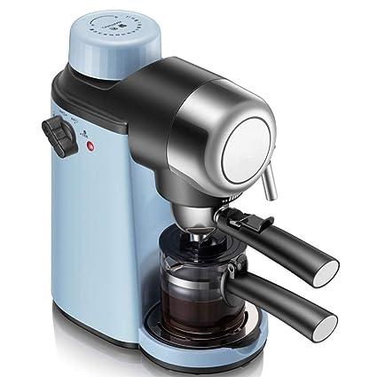 ZHANGM Máquina de café Espresso de 4 Tazas, máquina de café exprés, máquina de