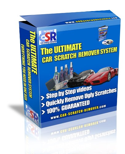 The Ultimate Car Scratch Remover - Polishing Out Car On Scratches