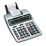Casio HR100TM - HR-100TM Two-Color Portable Printing Calculator, 12-Digit LCD, Black/Red