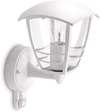 w pir sécurité lanterne blanc de marque nouvelle lumière PHILIPS mon jardin Creek mur jusqu/' c