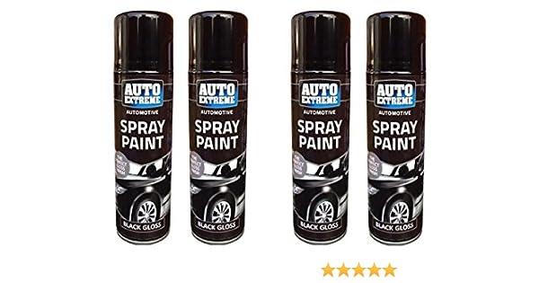 250 ml automático Spray Aerosol de pintura de madera brillante ...