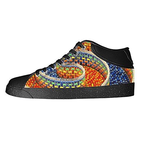 Custom Spiral Mens Classic High Top Canvas Shoes Fashion Sneaker
