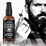 Pre Shave Oil for Men - Best Shaving Oil with