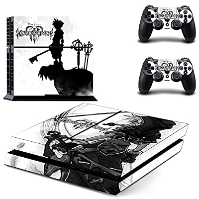 Junsi Kingdom Hearts Body Skin Sticker Decal for PS4 Playstation 4 Console+Controllers from Huizhou City Junsi Electronics Co., Ltd.