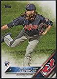 2016 Topps Mike Clevinger Indians Rookie Baseball Card #US69