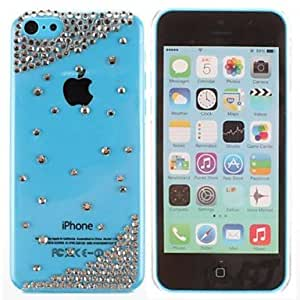 MOM Simple Bead Metal Jewelry Back Case for iPhone 5C