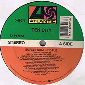Superficial People (Vinyl): Ten City: Amazon.ca: Music