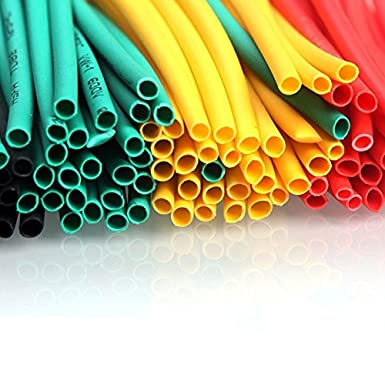 164PCS Polyolefin Heat Shrink Assorted Tube Tubing Insulated Sleeve Wire Cable S